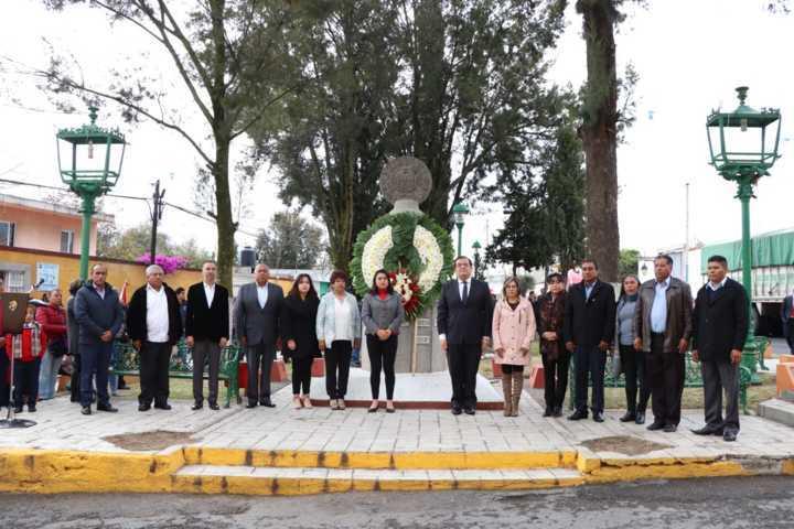Sánchez Jasso encabezo el 485 aniversario de la fundación de Huamantla