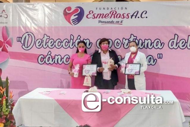 Detección Oportuna del Cáncer de Mama, promueve Fundación EsmeRoss A.C.