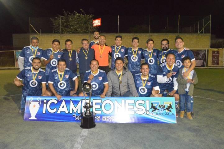 Se corona campeón ayuntamiento de Tlaxcala en el torneo para servidores públicos