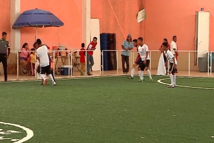 Celebra fútbol sala su 30 aniversario en Teolocholco