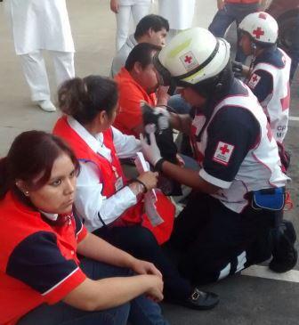 Conato de incendio se registra en la Gran Bodega de Tlaxcala