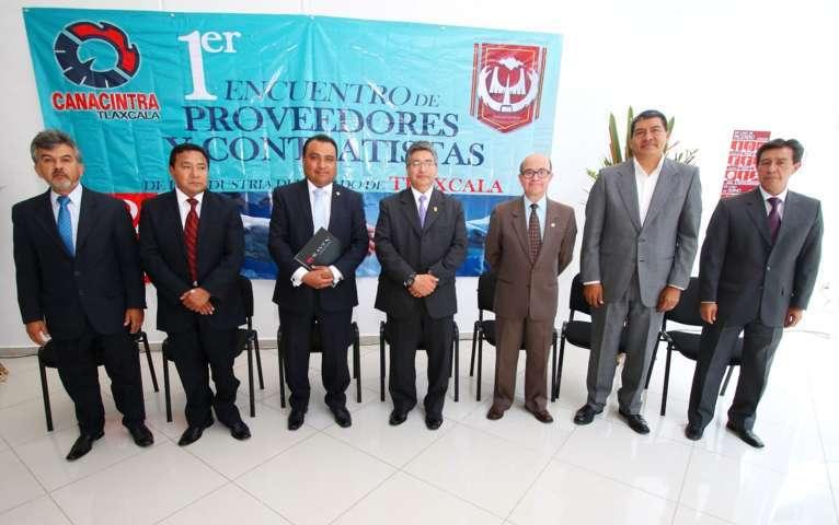 """Organizan """"Primer encuentro de proveedores y contratistas de la industria de Tlaxcala"""""""