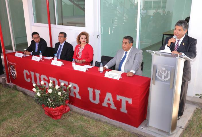 Entrega Rector de la UAT infraestructura en el CIISDER