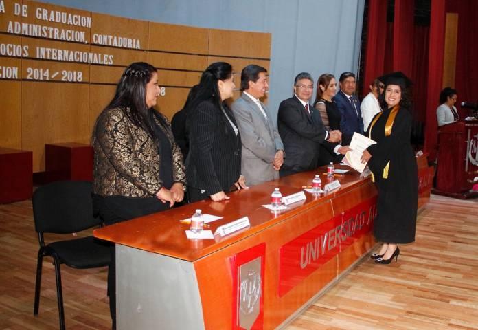 Culminó estudios la Facultad de Ciencias Económico Administrativas de la UAT
