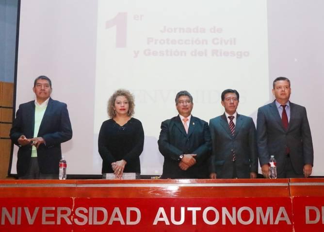 Inicia UAT la 1er. Jornada de Protección Civil y Gestión del Riesgo