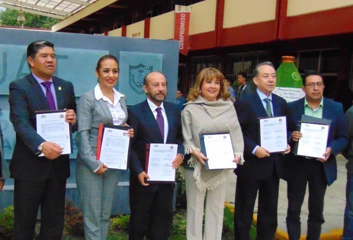 Firman UAT y Universidad Mariano Gálvez de Guatemala acuerdo de colaboración