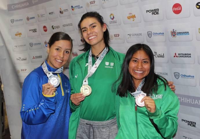 Logra Tlaxcala 2 bronces en el atletismo de Olimpiada Nacional
