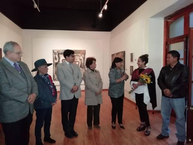 Inaugura Anabell Ávalos exposición pictórica