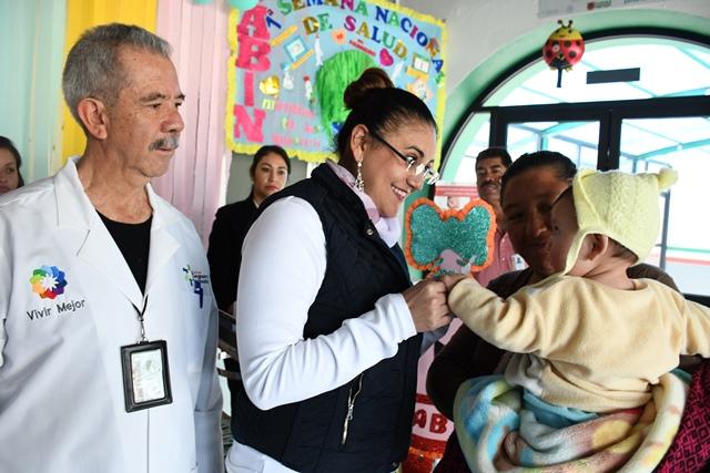 Aplicarán en Tlaxco 1491 vacunas a igual número de niños