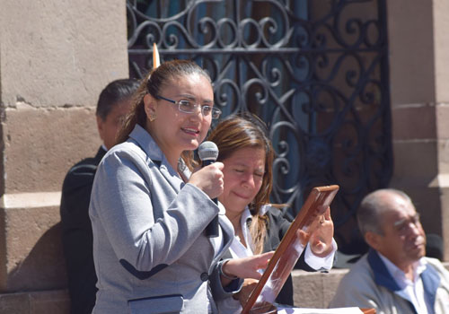 Legado de Juárez debe servir de inspiración: Gardenia