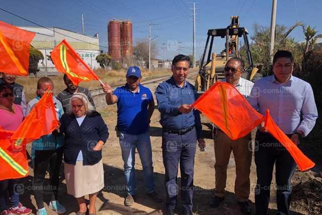 Xicoténcatl compromete casi mil metros de red de agua potable en la Ciénega