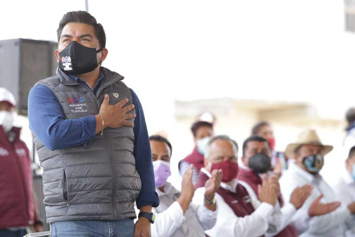Encuentro Social se posicionará como tercera fuerza política en Tlaxcala: Garrido