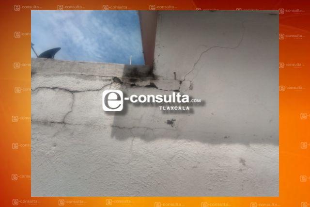 Saldo blanco en Tzompantepec tras sismo de 7.5 de esta mañana