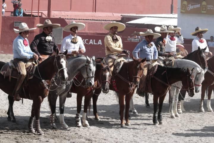 "Exitoso gran Torneo Charro en ""Tlaxcala Feria 2018"""