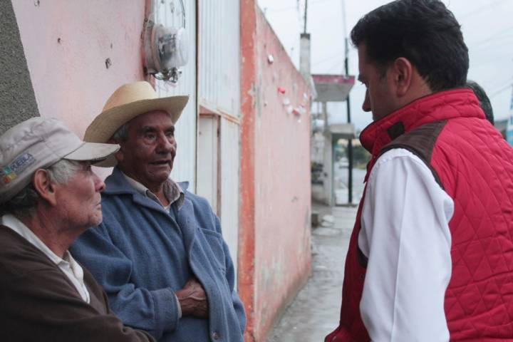 Gente de Huamantla, Ixtenco y Zitlaltepec, augura triunfo de Ignacio Ramírez