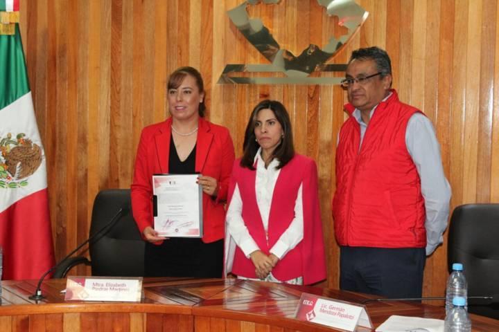 Recibe Zonia Montiel constancia  como diputada local por el PRI