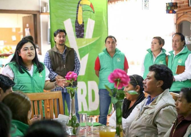 Anabel Alvarado comprometida con la Agenda Verde