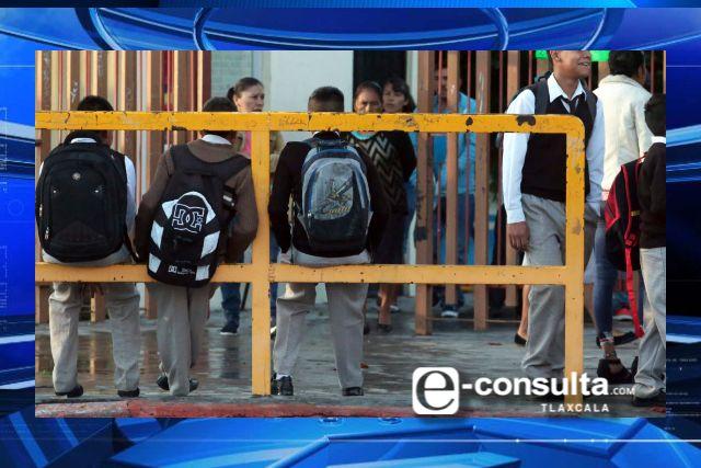 En Tlaxcala no habrá regreso a clases hasta que sea seguro: SEPE