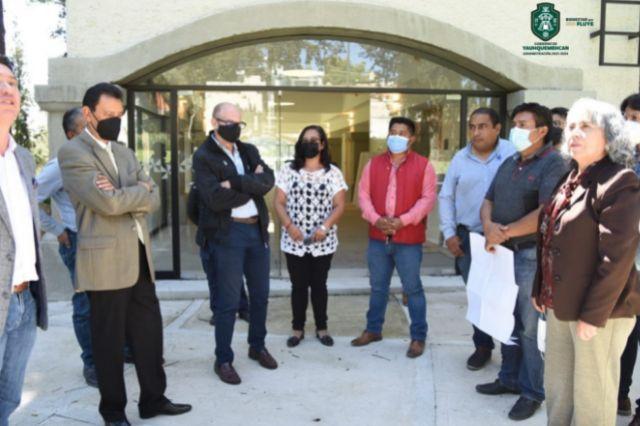 Realiza Ayuntamiento de Yauhquemehcan recorrido de inspección en el hotel Holiday Inn