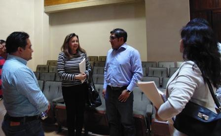 Presenta alcalde de Totolac proyecto