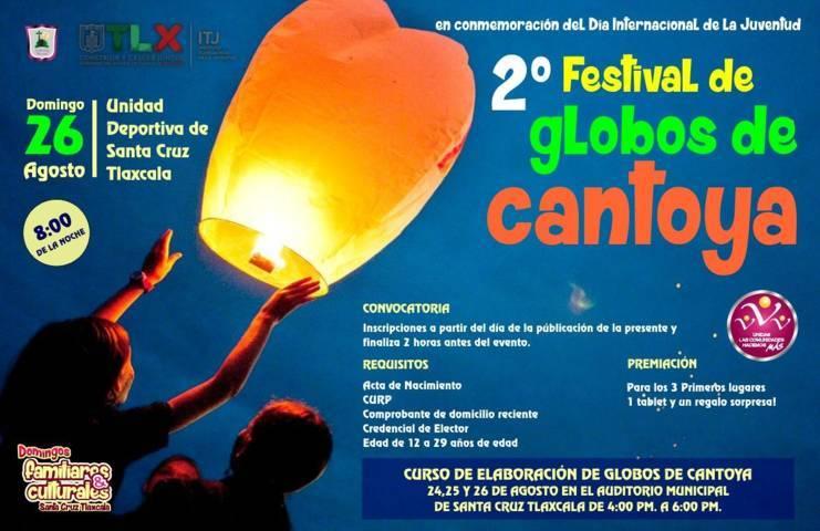 El 2do Festival de globos de Cantoya se realizará este 26 de agosto: alcalde