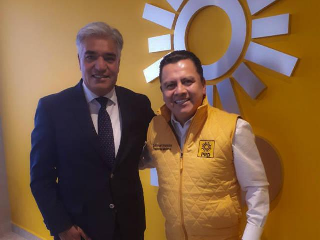 Manuel Granados refrenda su apoya a Gelacio Montiel al senado por Tlaxcala