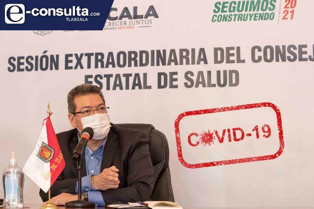 Consejo Estatal de Salud anuncia medidas adicionales para contener contagios de Covid-19