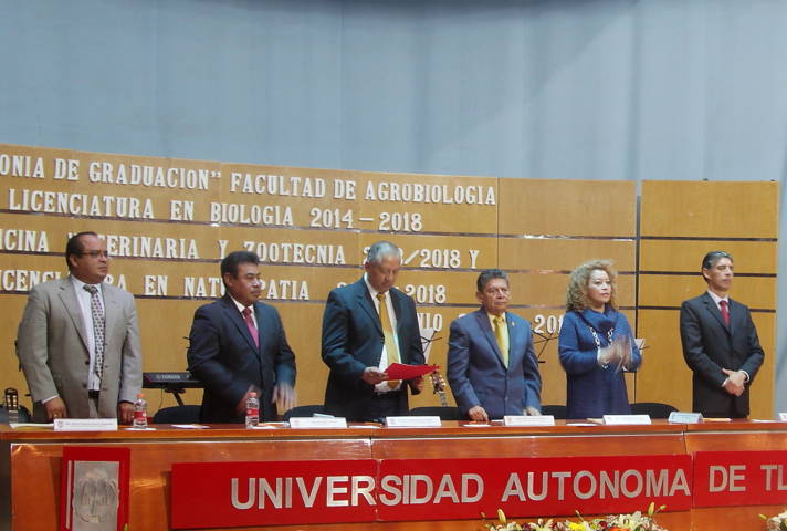 Egresa UAT estudiantes de la Facultad de Agrobiología