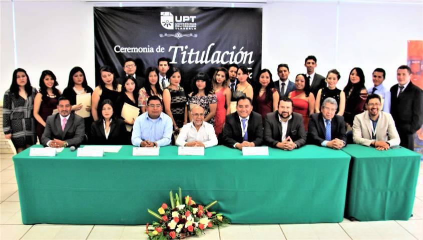 Entrega UPTX 202 ingenieros comprometidos con el desarrollo de Tlaxcala