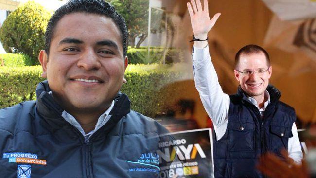 Julio César Hernández coordinará la campaña de Ricardo Anaya