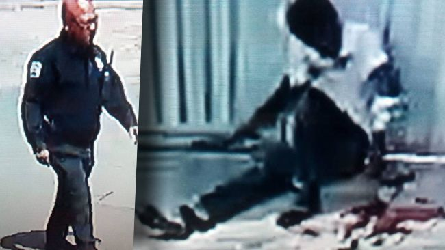 Policía apodado el tiburón lesiona de bala a transeúnte y borran evidencias