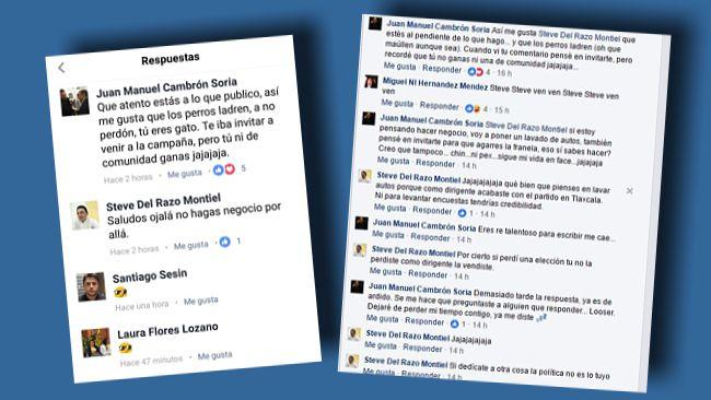 Clasista y colérico se muestra el líder del PRD en Tlaxcala