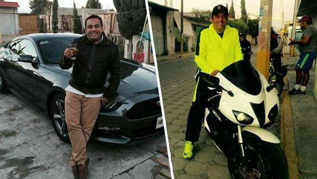 Novio de Blanca Águila presume auto y moto deportiva