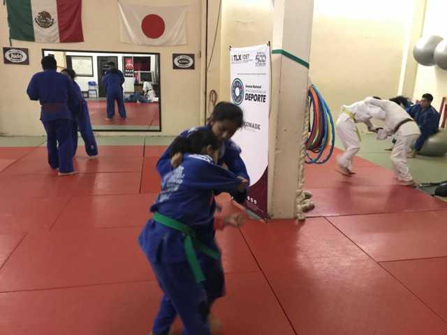 Se preparan judokas para eventos nacionales