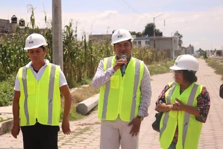 Invierte Ayto. un millón 163 mil 849 pesos en ampliación de red para energía eléctrica