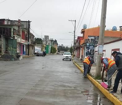 Alcalde implementa programa de rescate de espacios públicos