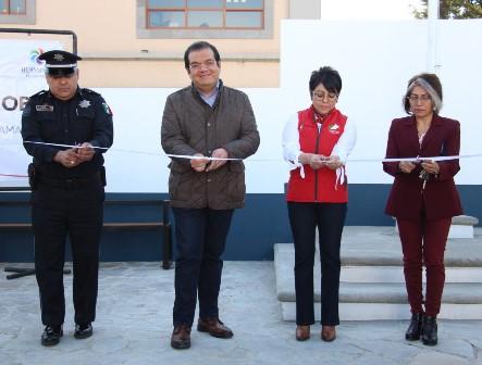 Rehabilitan instalaciones de seguridad pública en Huamantla