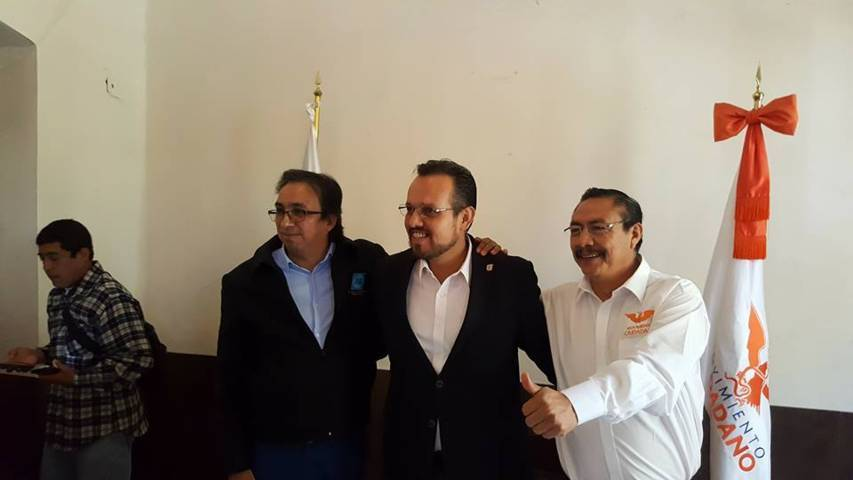 Solicita Juan Zepeda ser el candidato presidencial