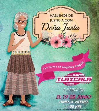 Transmitirá Coracyt seria Hablemos de Justicia con Doña Justa