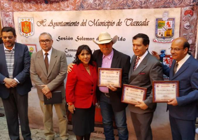 Se hermanan ayuntamientos de Tlaxcala y Bustamante, Nuevo León