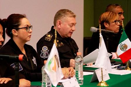 Hurtado Ruiz participa en conferencia de secretarios de seguridad