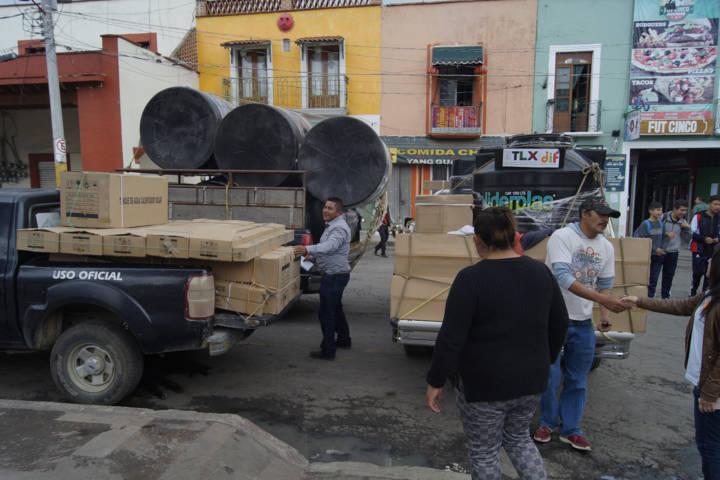 El SMDIF beneficia a grupos vulnerables con paquetes hidráulicos