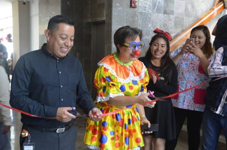 Inaugura Hospital Infantil de Tlaxcala exposición de dibujos de pacientes