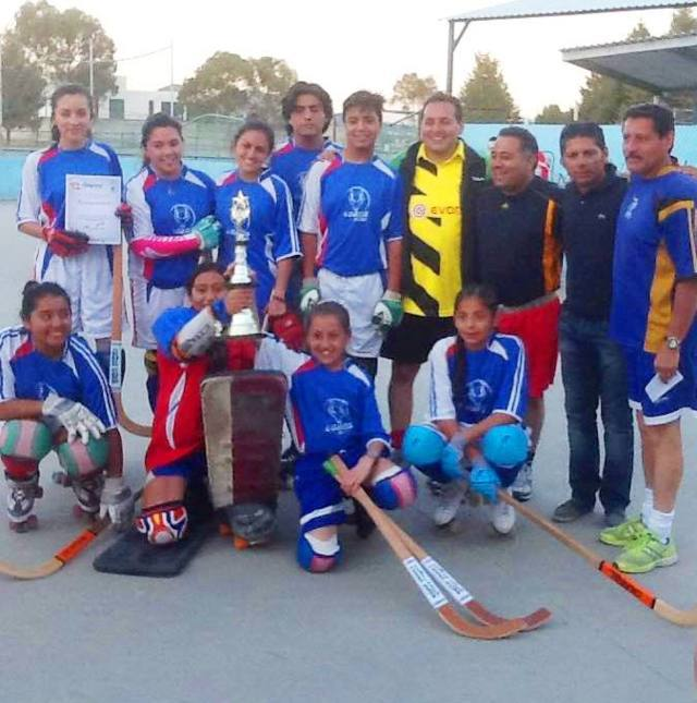 Hockey en patines y Wushu en la Feria de Apizaco