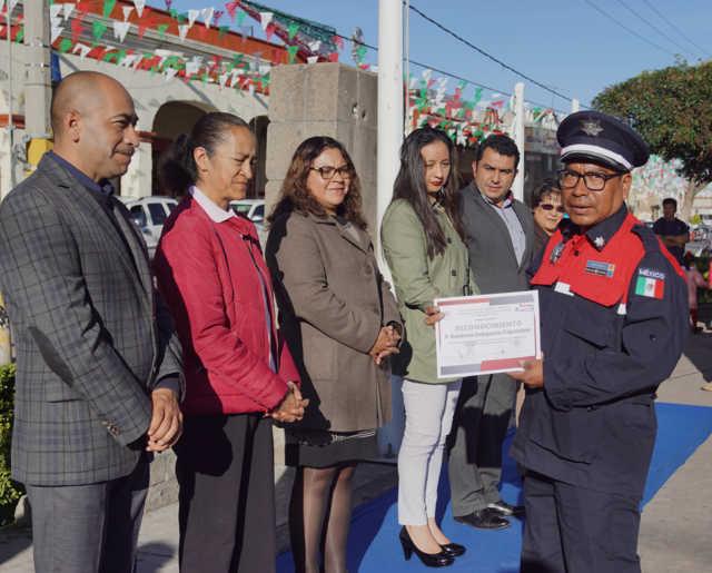Alcalde de Calpulalpan impulsa la prevención en este Macrosimulacro