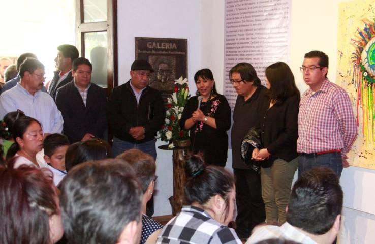Conmemoran en la capital el XI Aniversario Luctuoso de Desiderio Hernández Xochitiotzin