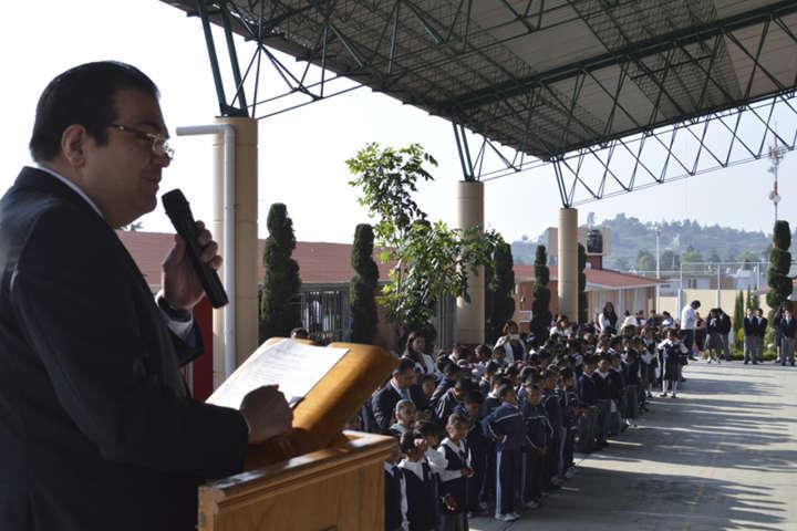 Escuelas de Huamantla mejorarán su infraestructura para un buen desarrollo de estudiantes: JSJ