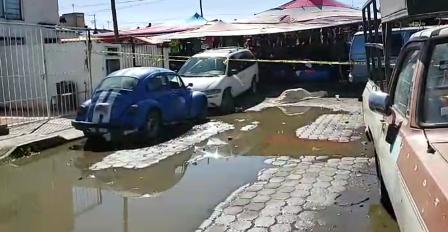 Asesinan a comerciante en Mercado Nuevo de Chiautempan