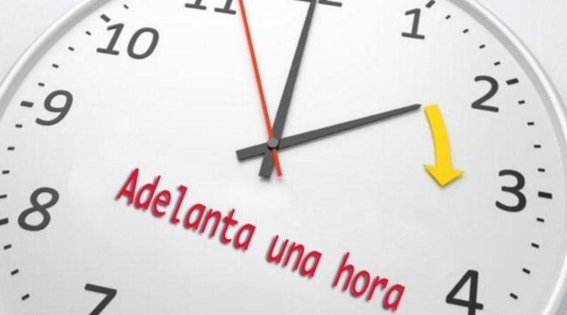 El domingo 1 de abril inicia el Horario de Verano 2018