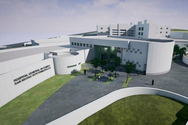 Al 90%, Proyecto ejecutivo del nuevo hospital General